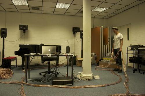 Setup in the Goldsmiths EMS