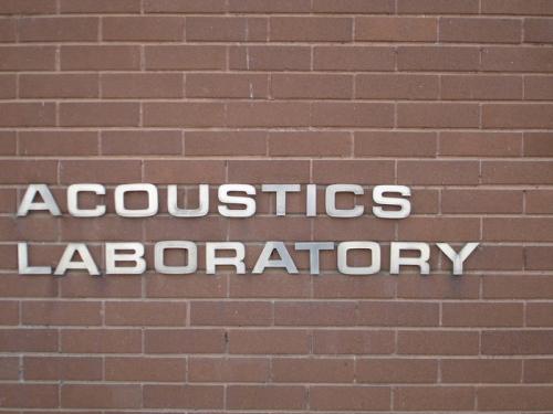 Acoustics laboratory