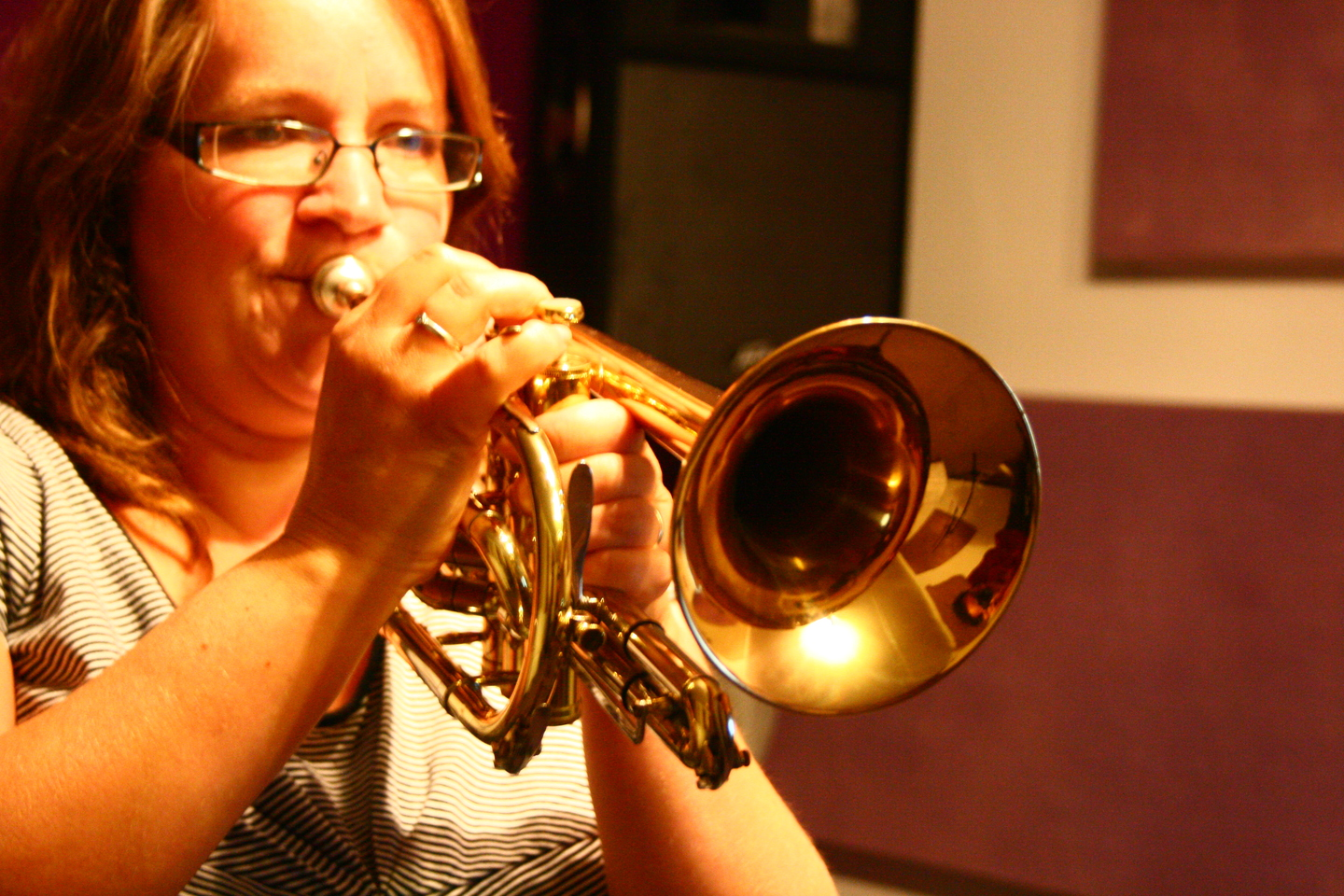 Ceri Dickenson from Weymouth Concert Brass